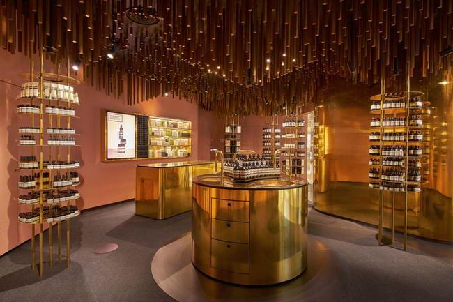 интерьер магазина в Сингапуре, дизайн Снохетта