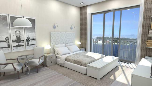 интерьер апартаментов с готовой эксклюзивной отделкой, Докланд