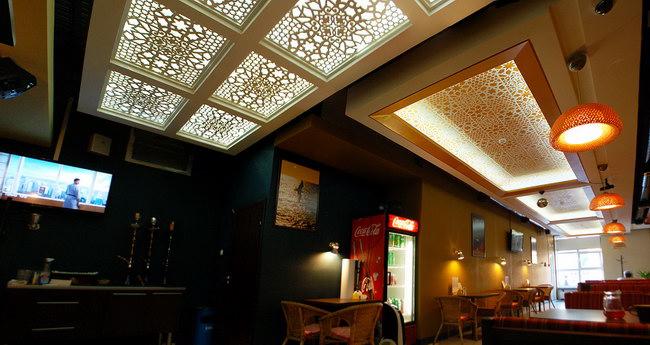 интерьер кафе узбекской кухни