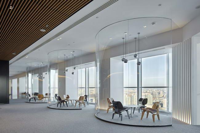 офис JTI Россия, Архитектурное бюро Skidmore, Owings and Merrill и Архитектурное бюро Aukett Swanke