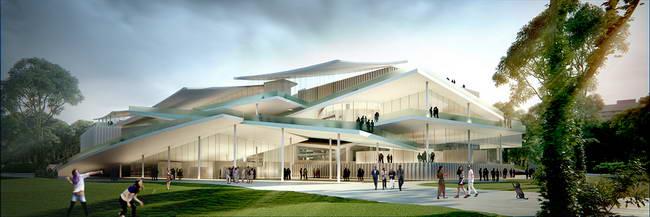 проект музея Людвига, SANAA