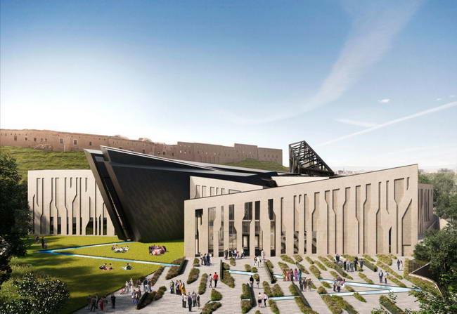 проект музея курдов, Studio Libeskind