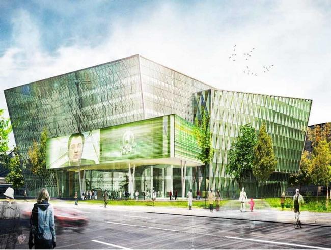 здание нового телевизионного центра, НТВ