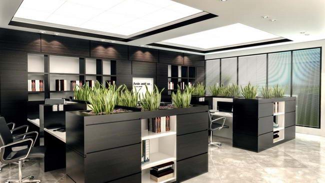 интерьер офиса инвестиционной компании, Насрин Моради, архитектор и дизайнер интерьера, Иран. Реализован в 2014 году