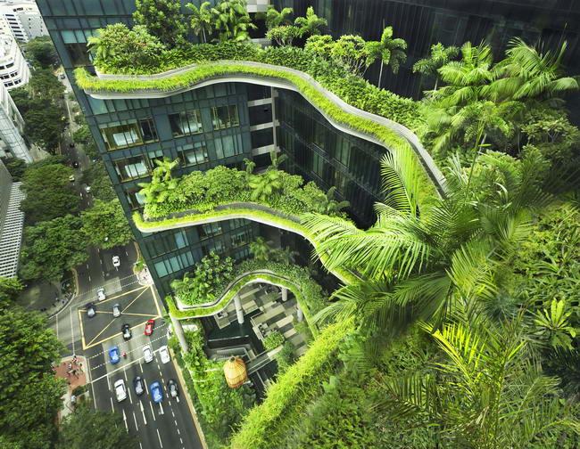 ParkRoyal, Сингапур, WOHA Architects Pte. Ltd