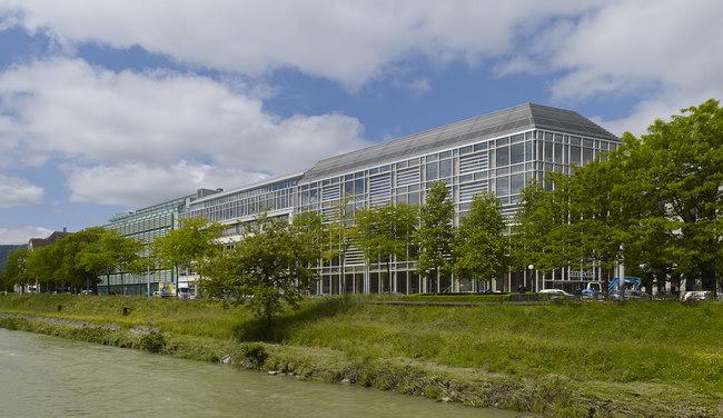 Завершенное здание Tamedia