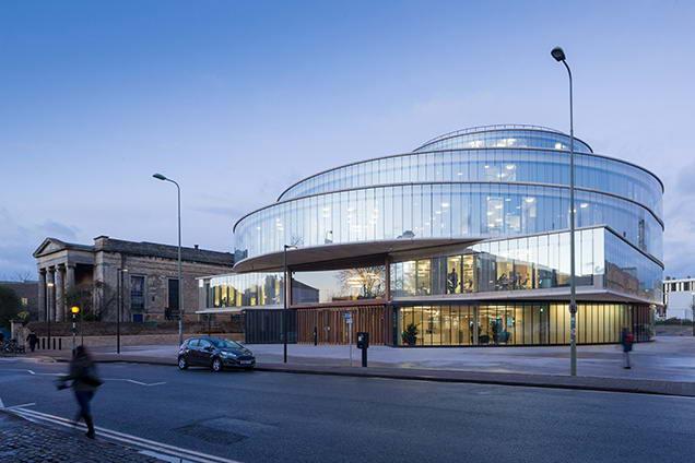 здание Школы Блаватника в Оксфорде