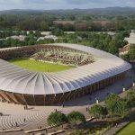 Первый в мире деревянный стадион по проекту Zaha Hadid Architects построят в Британии