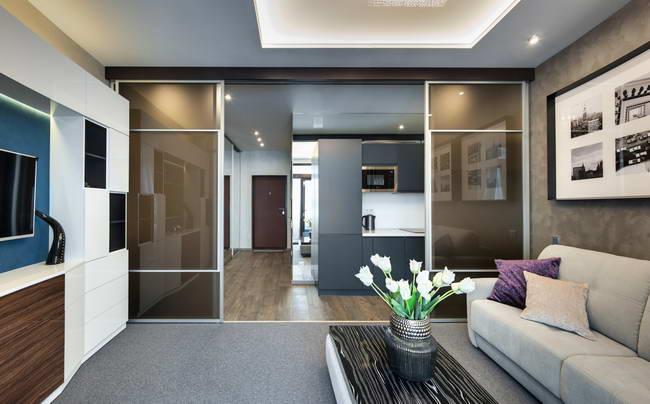 Вид на квартиру-студию