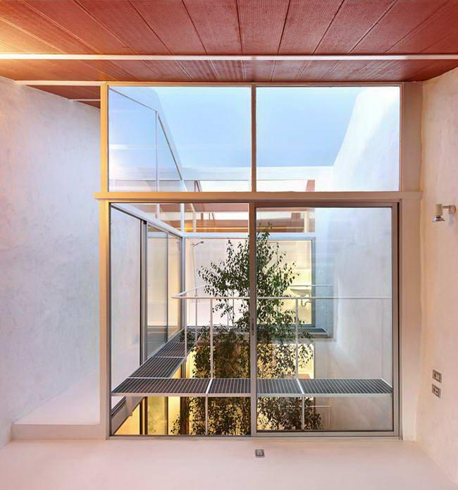 внутренний двор - световой колодец