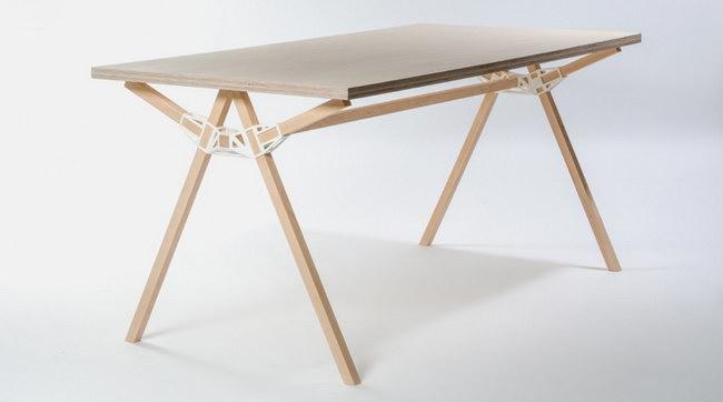 стол Keystones - победитель конкурса предметного дизайна в Бельгии
