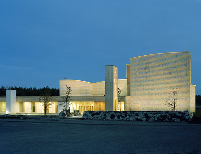 церковь Viikki в Хельсинки, JKMM Architects Ltd