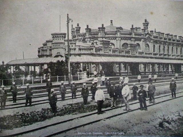 Казатинский вокзал, фото 2013 года