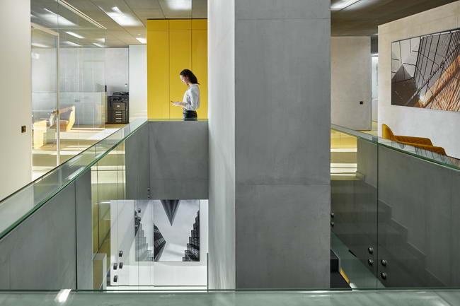 интерьер офиса Альфа-Строй, Архитектурная студия VOX Architects