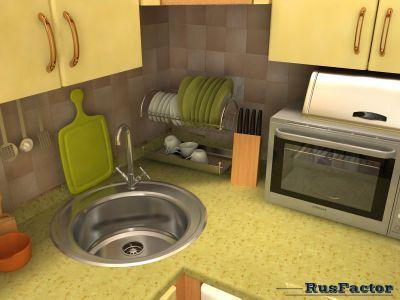 кухня моей второй мамы (тёщи ; )) Визино с натуры