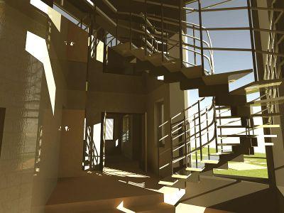 лестница TW-EV-HOUSE