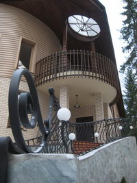 загородный дом с элементами в стиле ар-нуво