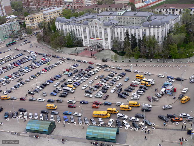 Комсомольская площадь в Самаре