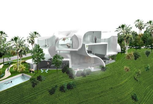 Проект загородного дома под названием