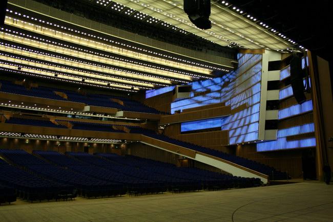 Реконструкция Кремлевского Концертного зала.  Москва, Россия.