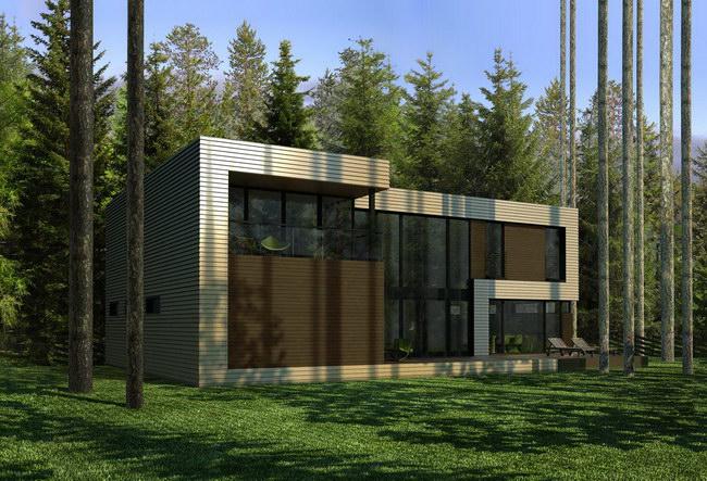 Теме современные дома в стиле модерн