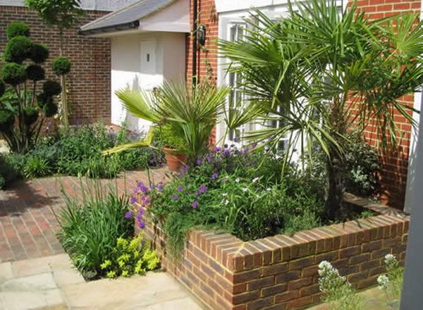 Садик внутренний двор лондон
