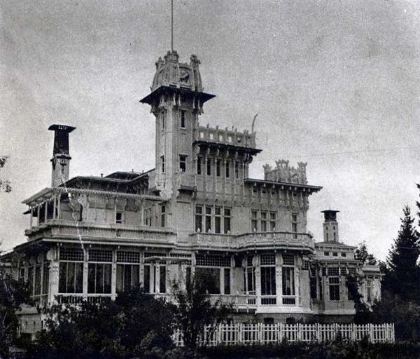 Келломяки. Замок Арфа. Архитектор Г. В. Барановский. Фото 1938 г.