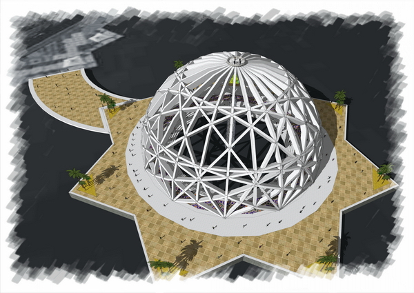 Конкурсный проект дом воды в абу даби