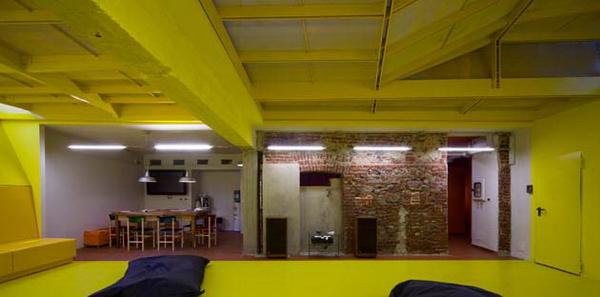 интерьер офиса компании Domino, дизайн и архитектурное проектирование - студия Marc