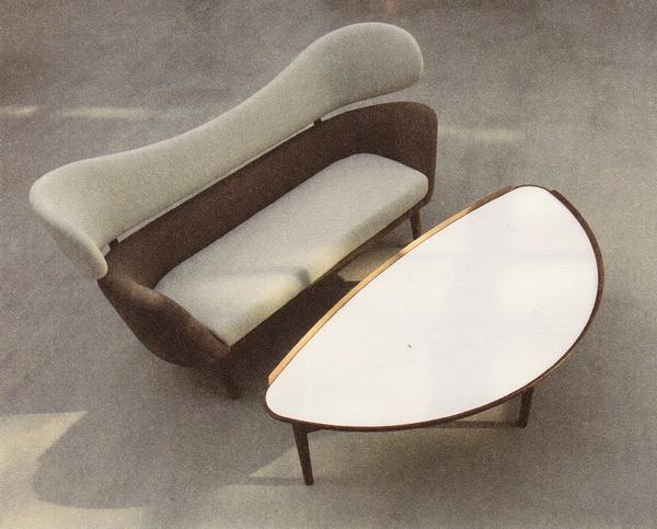 диван baker и коктейльный столик