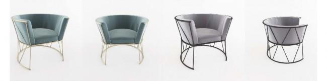 линия мебели для сидения Elclat, дизайн Елена Хрящёва