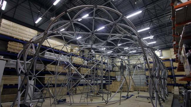 выставочная система INFINITYCONSTEVO, студия dega Exhibition interior architecture