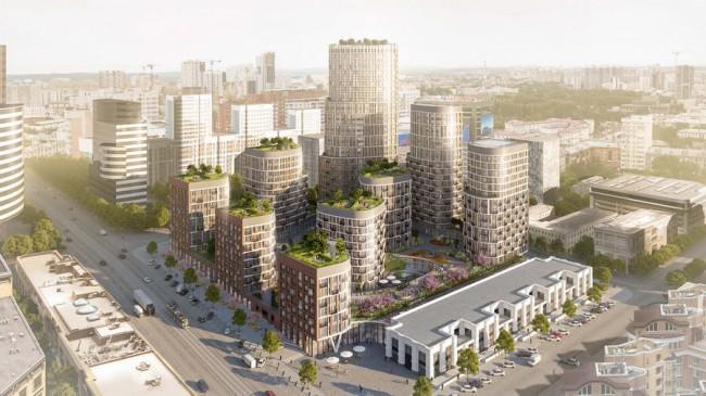 Жилой комплекс Форум сити в Екатеринбурге