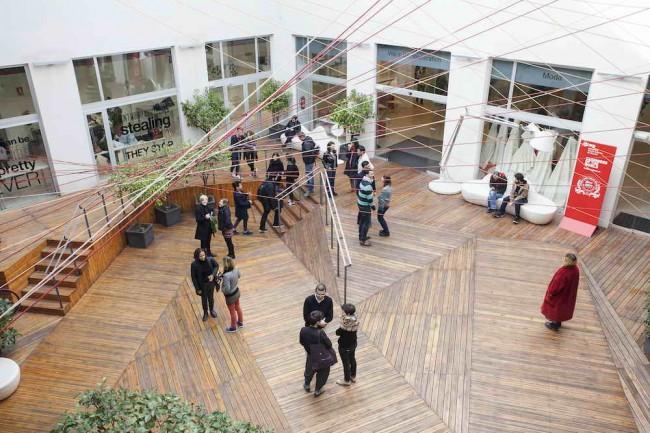 студенты Европейской Школы дизайна в Барселоне