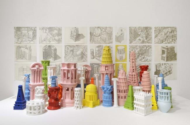 Римская сингулярность, арт керамика Адама Фурмана