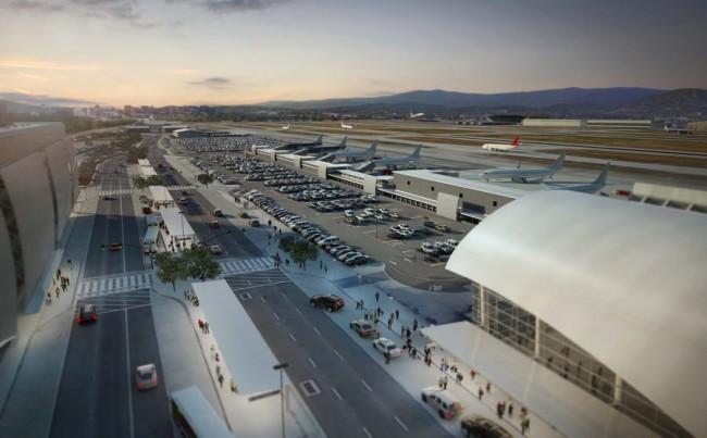 общий вид терминала с новыми гейтами