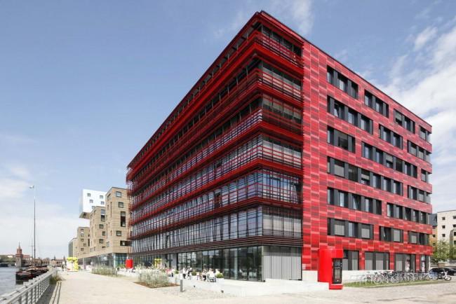 здание офиса Кока-Колы в Берлине, архитектор Сергей Чобан