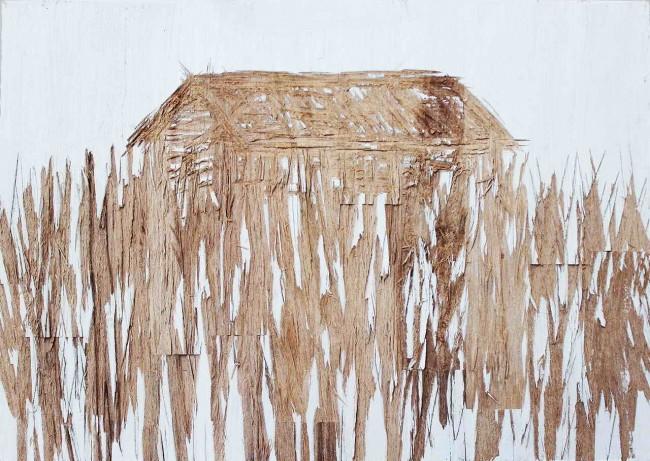 страница из деревянной книги Нестора Энгельке