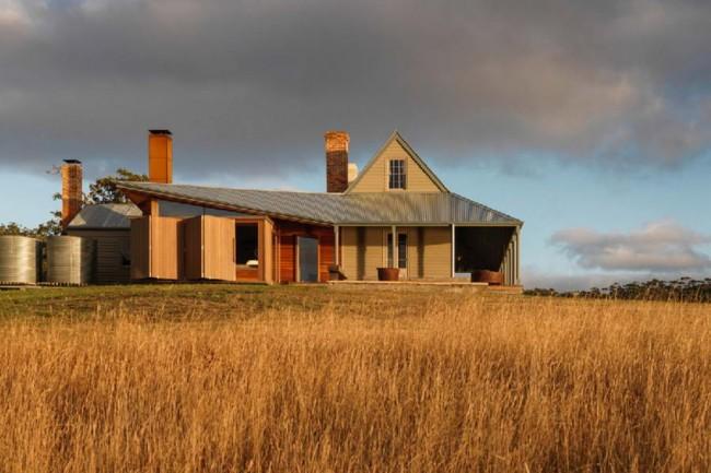 дом капитана Келли в Тасмании