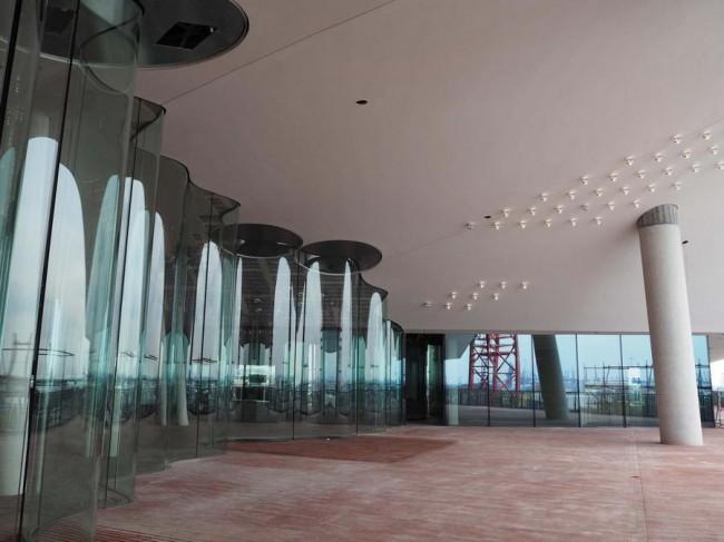 террасса, элементы из стекла