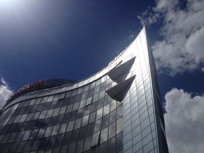 офисное здание Стальной ветер