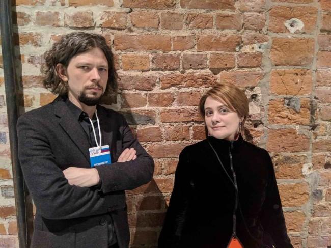 Владимир Фролов и Наталья Карагодова