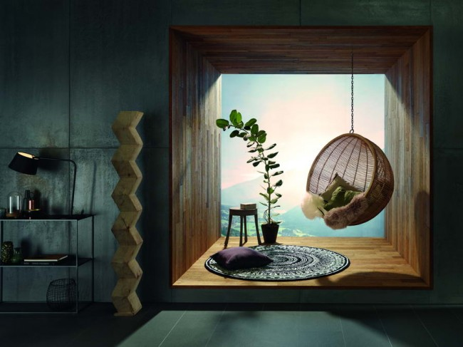 окно, облицованное Haro Wall