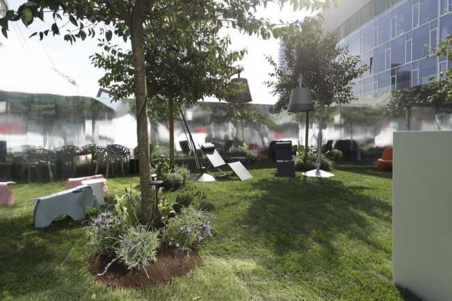 тайный сад на неделе дизайна в Милане