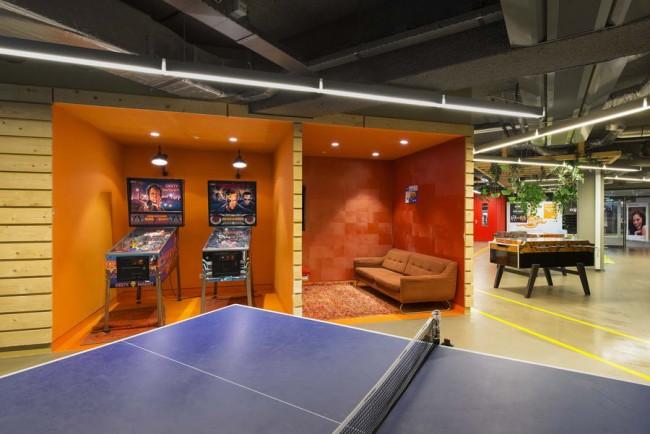 игровая зона в офисе