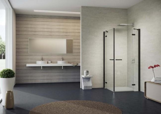 душевая кабина gallery 3000 в интерьере ванной комнаты