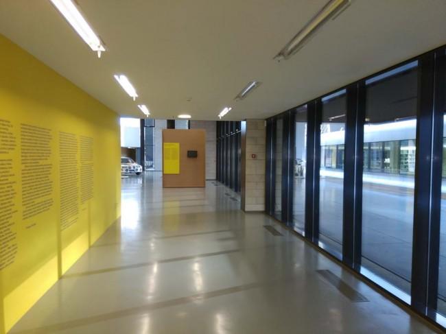интерьер холла в Национальной галерее искусств, Вильнюс