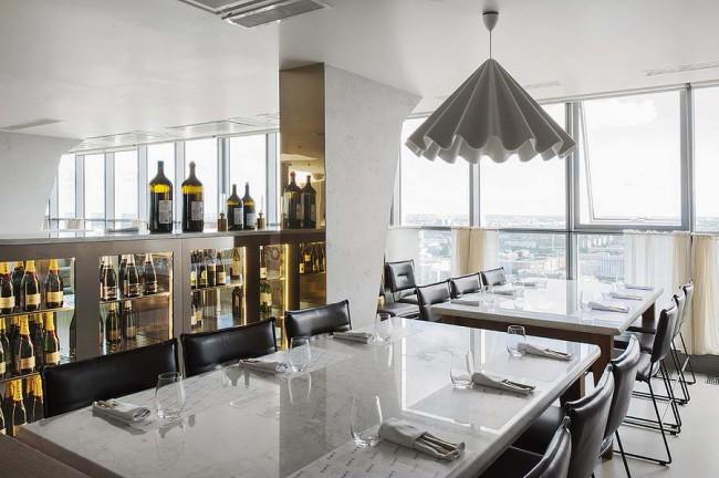 интерьер ресторана 41 этаж