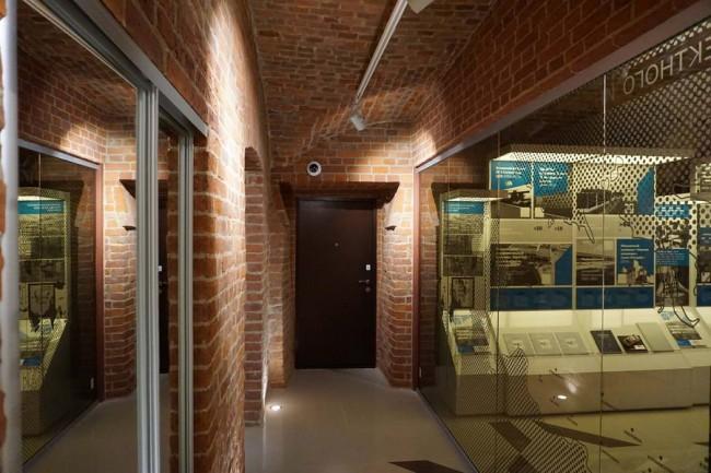 интерьер Музея проектного дела