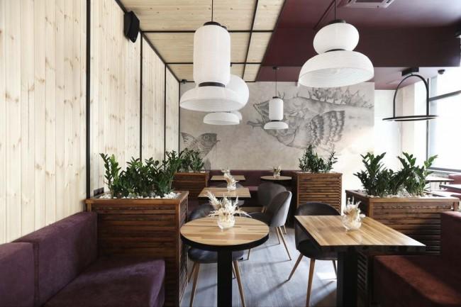 Итальянский зал в лофт-ресторане Гастропойнт